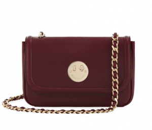 Hill and Friend Oxblood Happy Chain Medium Bag