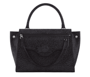 Hill and Friends Liquorice Black Bat Happy Zippy Bag