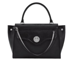 Hill and Friends Liquorice Black Gunmetal Happy Zippy Bag