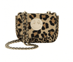 Hill and Friends Natural Leopard Happy Tweency Bag