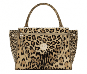 Hill and Friends Natural Leopard Happy Zippy Bag