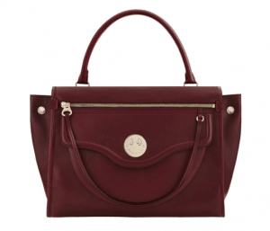 Hill and Friends Oxblood Happy Zippy Bag