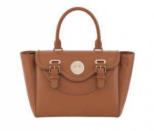 Hill and Friends Toffee Happy Satchel Bag