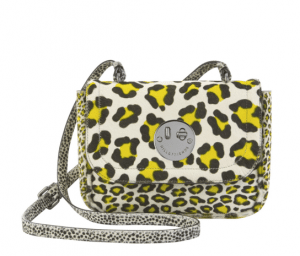 Hill and Friends Yellow/White Happy Mini Bag