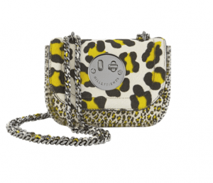 Hill and Friends Yellow/White Leopard Happy Tweency Bag