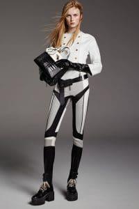 Louis Vuitton Black/White Crocodile:Leather City Steamer Bag