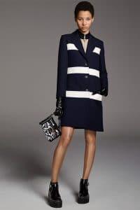 Louis Vuitton Black/White Petite Malle Bag