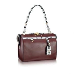 Louis Vuitton Brown with Noir and Blanc Monogram Trim Speedy Amazon MM Bag