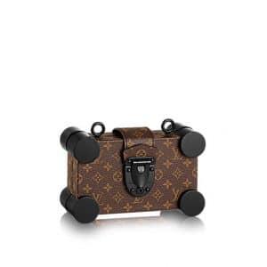 Louis Vuitton Monogram Canvas Petite Malle Mini Bag