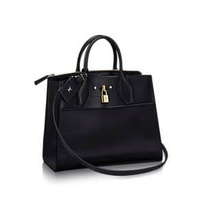 Louis Vuitton Noir City Steamer MM Bag