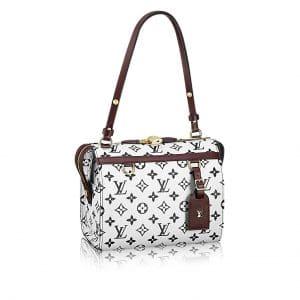 Louis Vuitton Noir/Blanc Monogram Canvas Speedy Amazon PM Bag