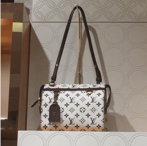 Louis Vuitton Noir/Blanc Monogram Canvas Speedy Amazon PM Bag 2