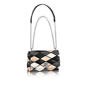 Louis Vuitton Noir Malletage Go-14 PM Bag
