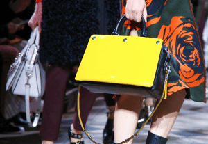 Mulberry Black/Yellow Chester Bag - Fall 2016