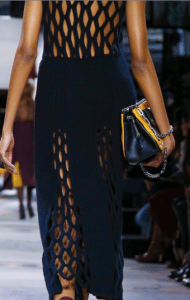 Mulberry Black/Yellow Shoulder Bag - Fall 2016
