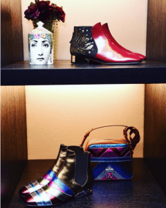 Paula Cademartori Multicolor Metallic Shoulder Bag - Fall 2016