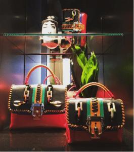 Paula Cademartori Red Embellished Faye and Dun Dun Bags - Fall 2016