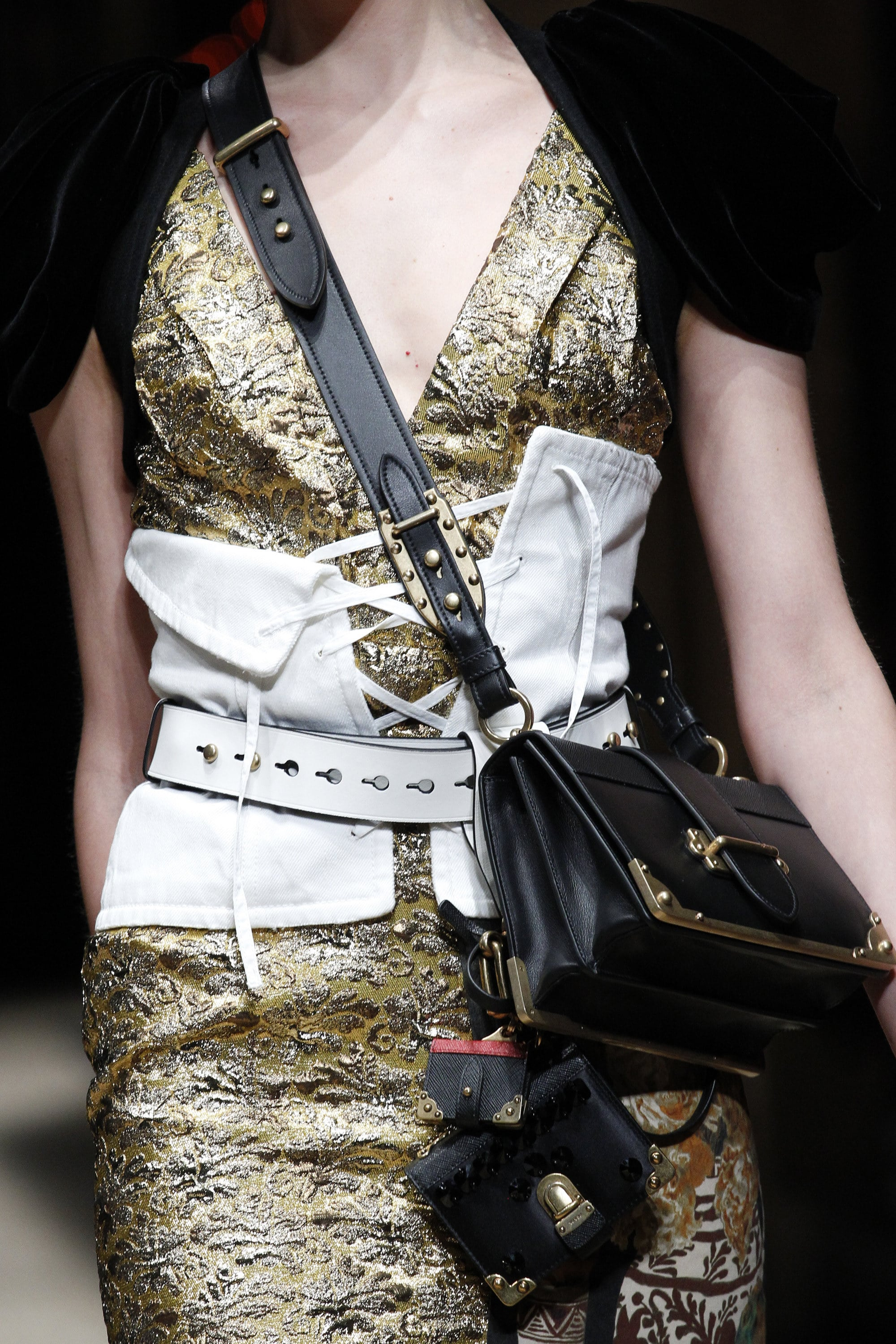 Prada Fall Winter 2016 Runway Bag Collection Spotted Fashion