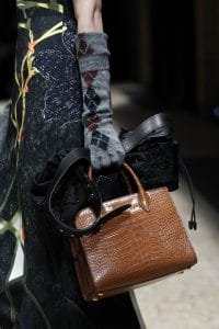 Prada Brown Crocodile Tote Bag - Fall 2016