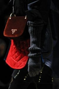 Prada Burgundy Pionniere Bag - Fall 2016