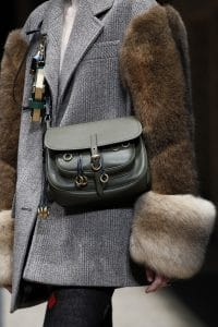 Prada Grey Satchel Bag - Fall 2016