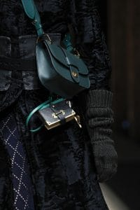 Prada Teal Flap Bag - Fall 2016