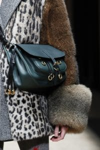 Prada Teal Satchel Bag - Fall 2016