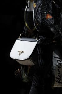 Prada White/Black Pionniere Bag 2 - Fall 2016