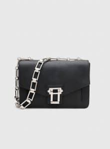 Proenza Schouler Black Hava Chain Shoulder Bag