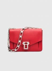 Proenza Schouler Cuban Red Hava Chain Shoulder Bag
