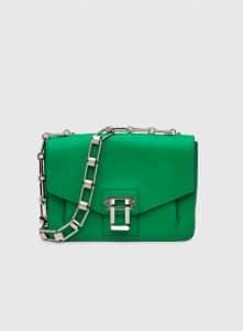 Proenza Schouler Green Hava Chain Shoulder Bag