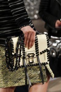 Proenza Schouler Ivory/Black Hava Bag - Fall 2016