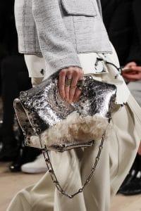 Proenza Schouler Silver Tote Bag - Fall 2016