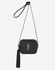 Saint Laurent Black Monogram Blogger Bag