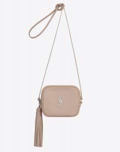 Saint Laurent Powder Pink Monogram Blogger Bag