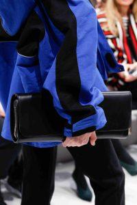 Balenciaga Black Long Clutch Bag - Fall 2016