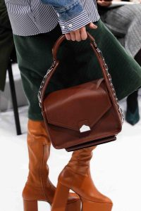 Balenciaga Brown Small Top Handle Bag - Fall 2016