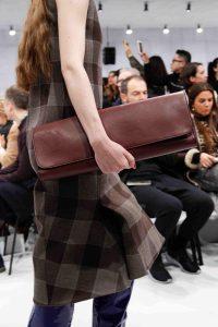 Balenciaga Burgundy Long Clutch Bag 2 - Fall 2016
