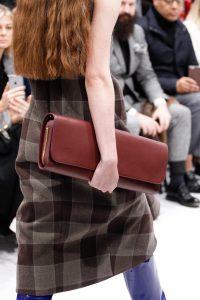 Balenciaga Burgundy Long Clutch Bag - Fall 2016