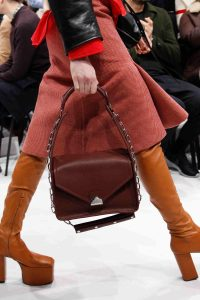 Balenciaga Burgundy Small Top Handle Bag 3 - Fall 2016