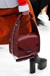 Balenciaga Burgundy Small Top Handle Bag - Fall 2016