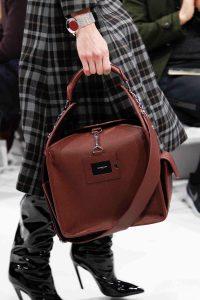 Balenciaga Burgundy Top Handle Bag 2 - Fall 2016