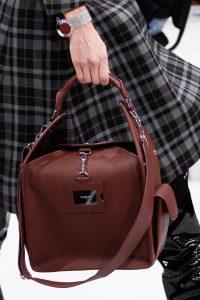 Balenciaga Burgundy Top Handle Bag - Fall 2016
