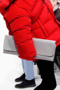 Balenciaga Gray Long Clutch Bag 2 - Fall 2016