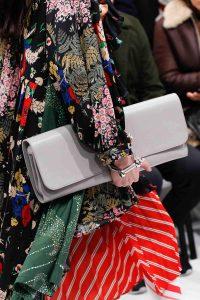 Balenciaga Gray Long Clutch Bag - Fall 2016