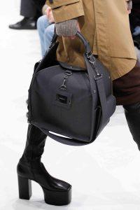 Balenciaga Gray Top Handle Bag - Fall 2016