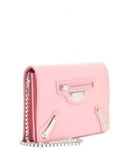 Balenciaga Metal Plate City Chain Wallet Bag 3