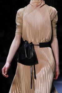 Celine Black Drawstring Belt Bag - Fall 2016