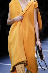 Celine Black and White Mini Flap Bags - Fall 2016