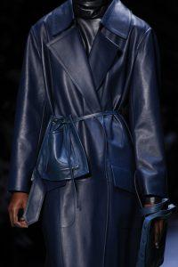 Celine Blue Drawstring Belt Bag - Fall 2016